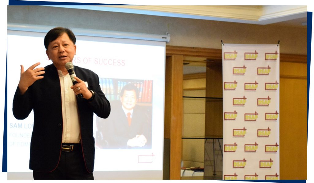 Four Pillars of Success by Sam Low (founder of Edmark Group of Companies)