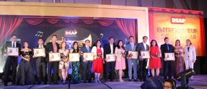 1st batch of Entrepreneur of the Year Awardees with Arlene Asidao