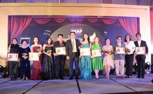 2nd batch of Sales Achiever Awardees with Boyet Fidelino