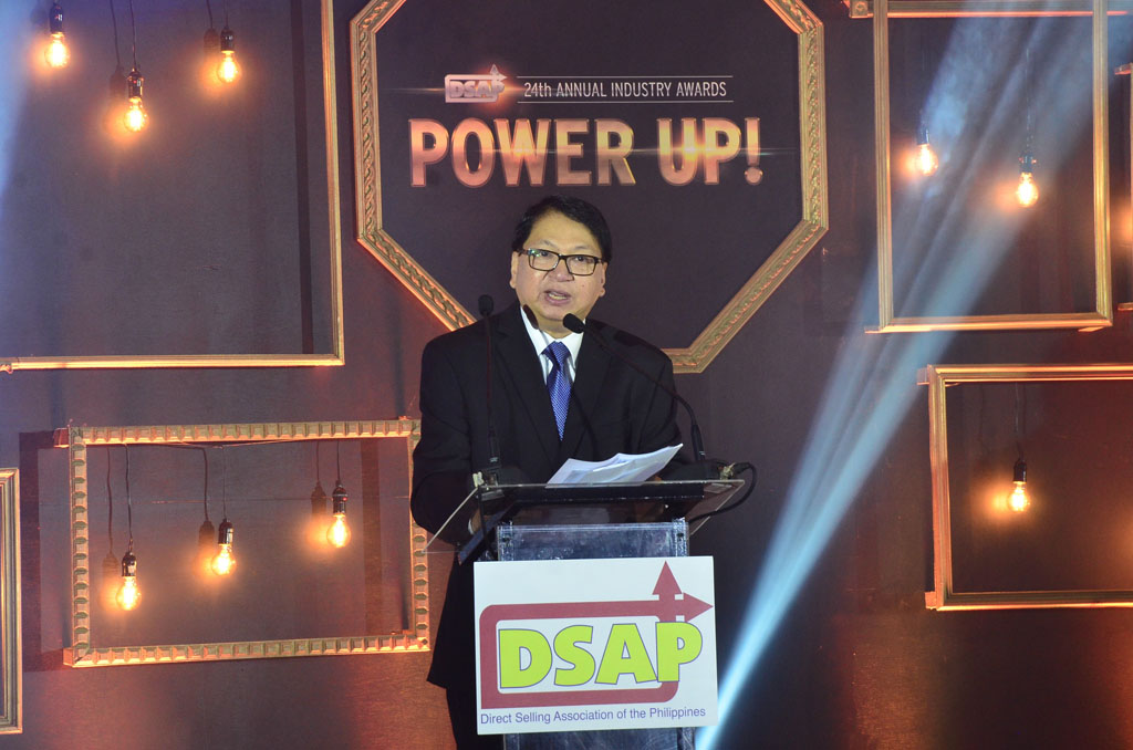 DSAP Chairman Joey Sarmiento